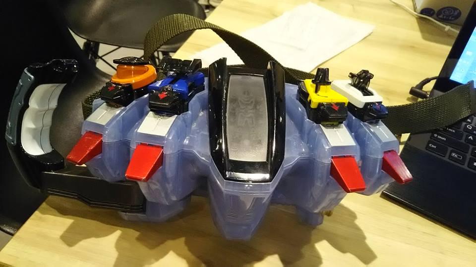Remodeled Kamen Rider Fourze Driver